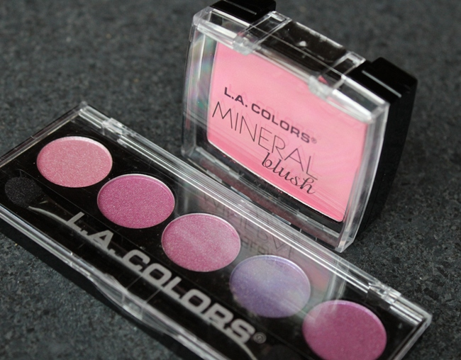 L.A. Colors blush eyeshadow