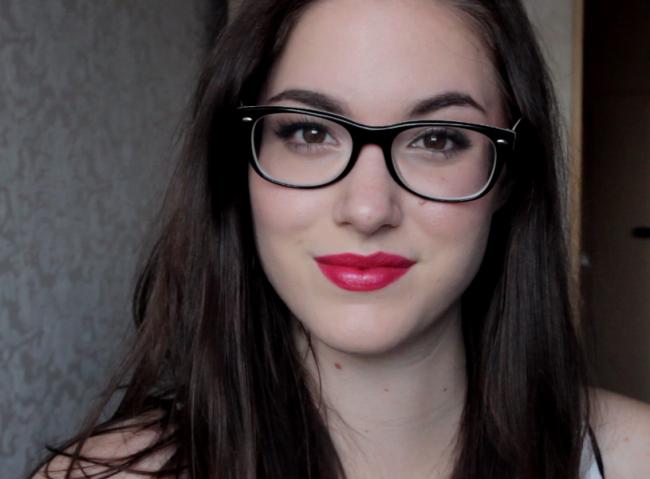 Make-up bij een bril