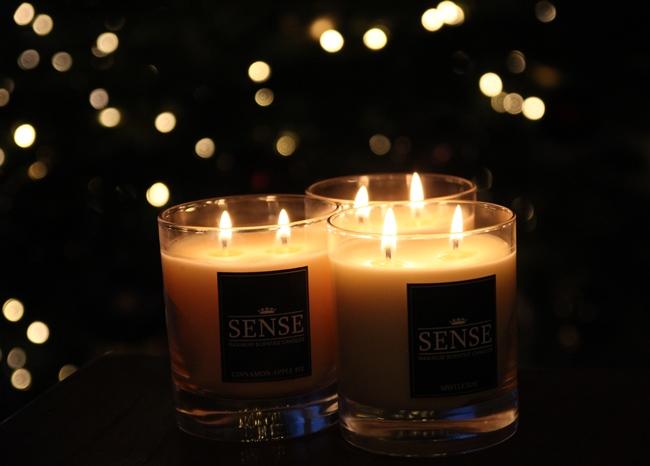 Sense Candles Kerst