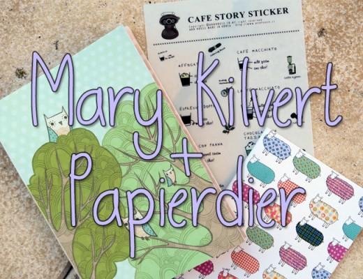 Mary Kilvert en Papierdier