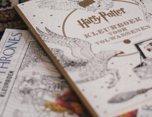 Harry Potter GOT kleurboeken